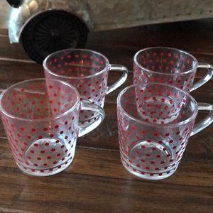 3 for $15 ❤️ Espresso cups - set of 4